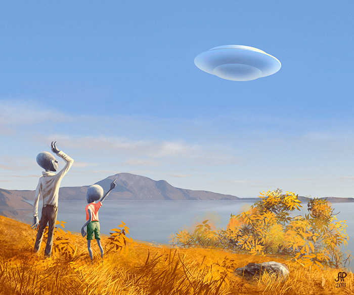 UFO by master-fish