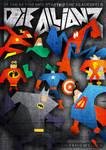 flyer - die allianz - heroes
