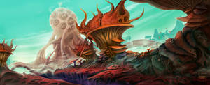 Fungi Planet by WillFx