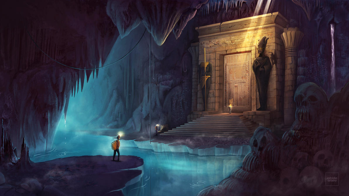 Temple - Ancient Civilizations - Lost and Found by WillFx