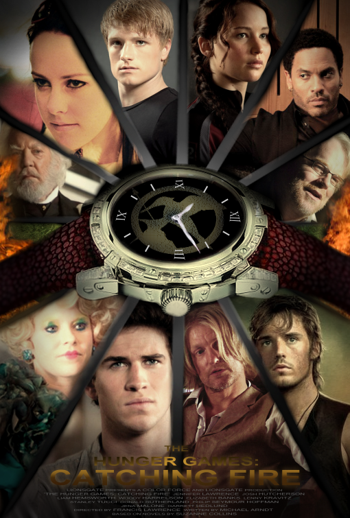 The Hunger Games: Catching Fire - Fan Poster by ...