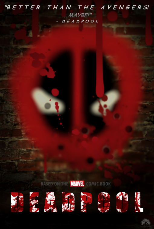 Deadpool Movie Poster 2014 Deadpool (movie) - fan poster