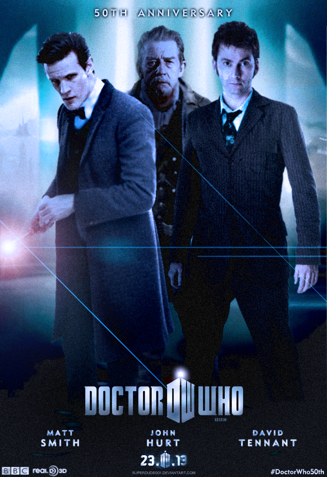 Doctor Who 50th Anniversary Special Poster by SuperDude001