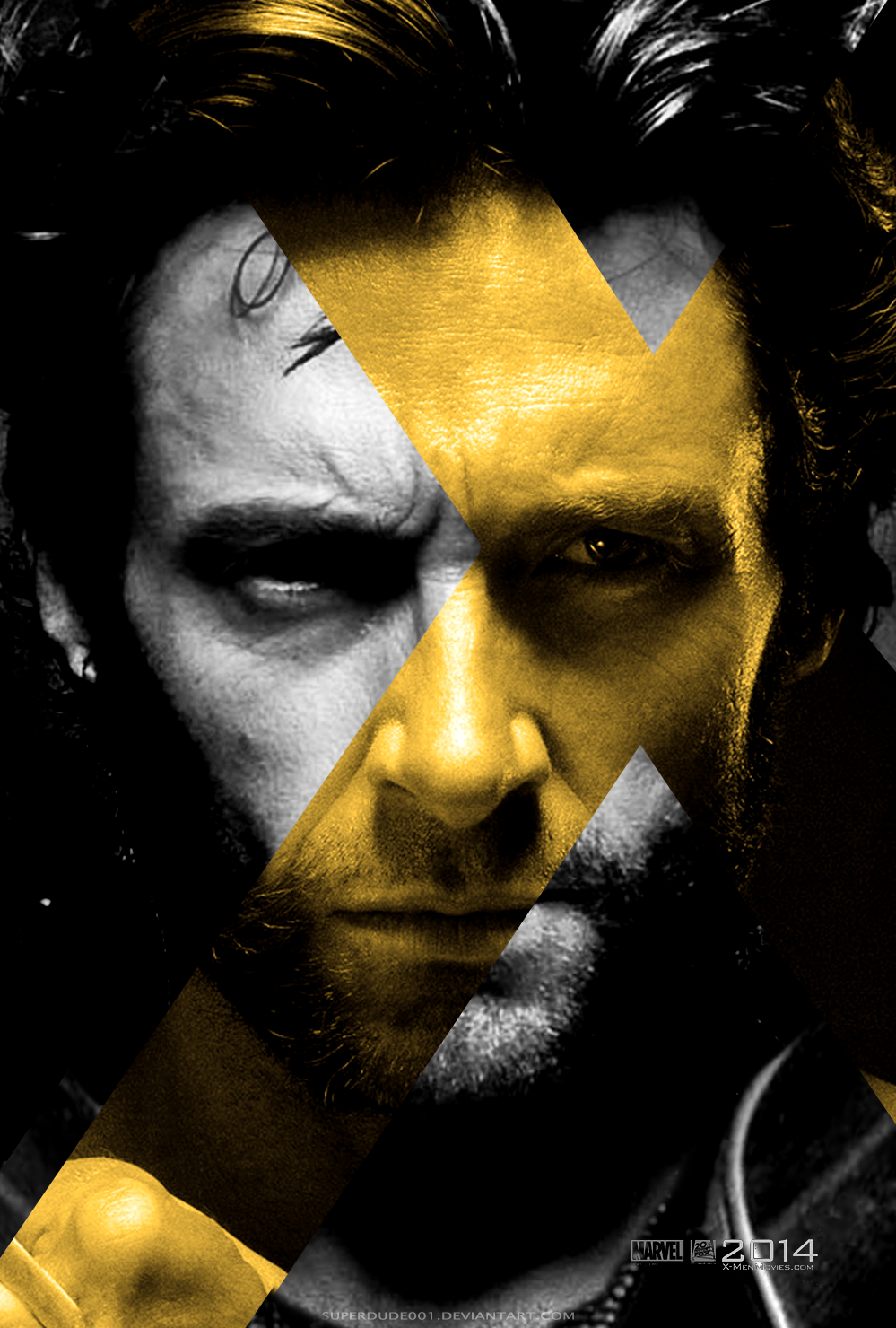 X Men Days Of Future Past Wolverine By Superdude001 On Deviantart