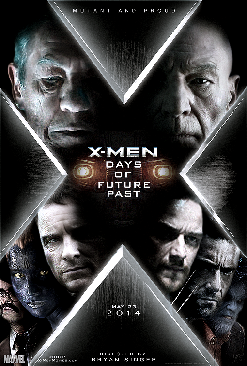 X Men Days Of Future Past Poster Wallpaper