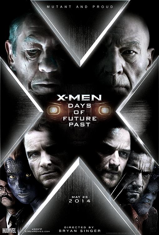 X Men Days Of Future Past Poster Wallpaper
