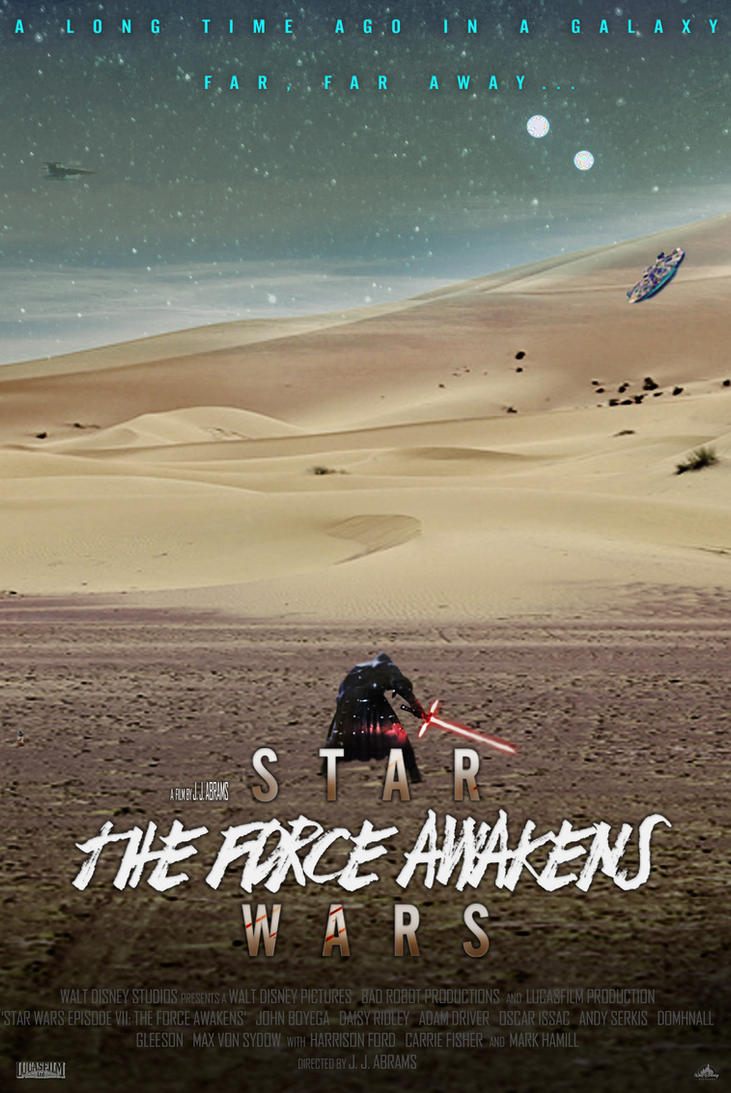 Star Wars The Force Awakens - Poster (Portrait) by SuperDude001