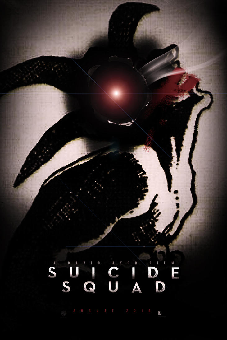 Suicide Squad - Teaser Poster by SuperDude001
