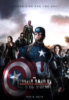 Captain America: Civil War - Poster by SuperDude001