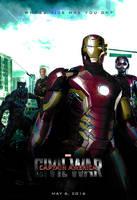 Captain America: Civil War - (Iron Man) Poster by SuperDude001