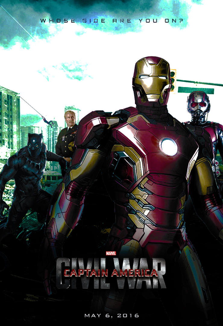 Captain America: Civil War - (Iron Man) Poster by SuperDude001