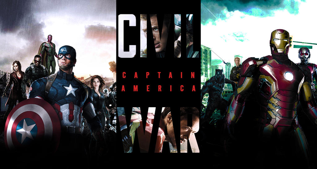 Captain America: Civil War - Wallpaper by SuperDude001