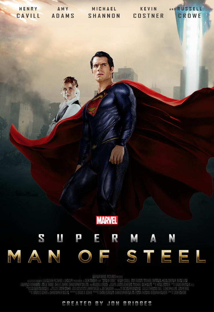 What If MARVEL Made 'Man Of Steel'? by SuperDude001