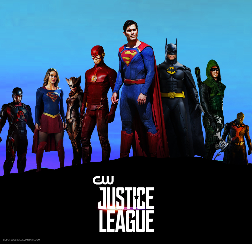 The CW Justice League - Concept by SuperDude001