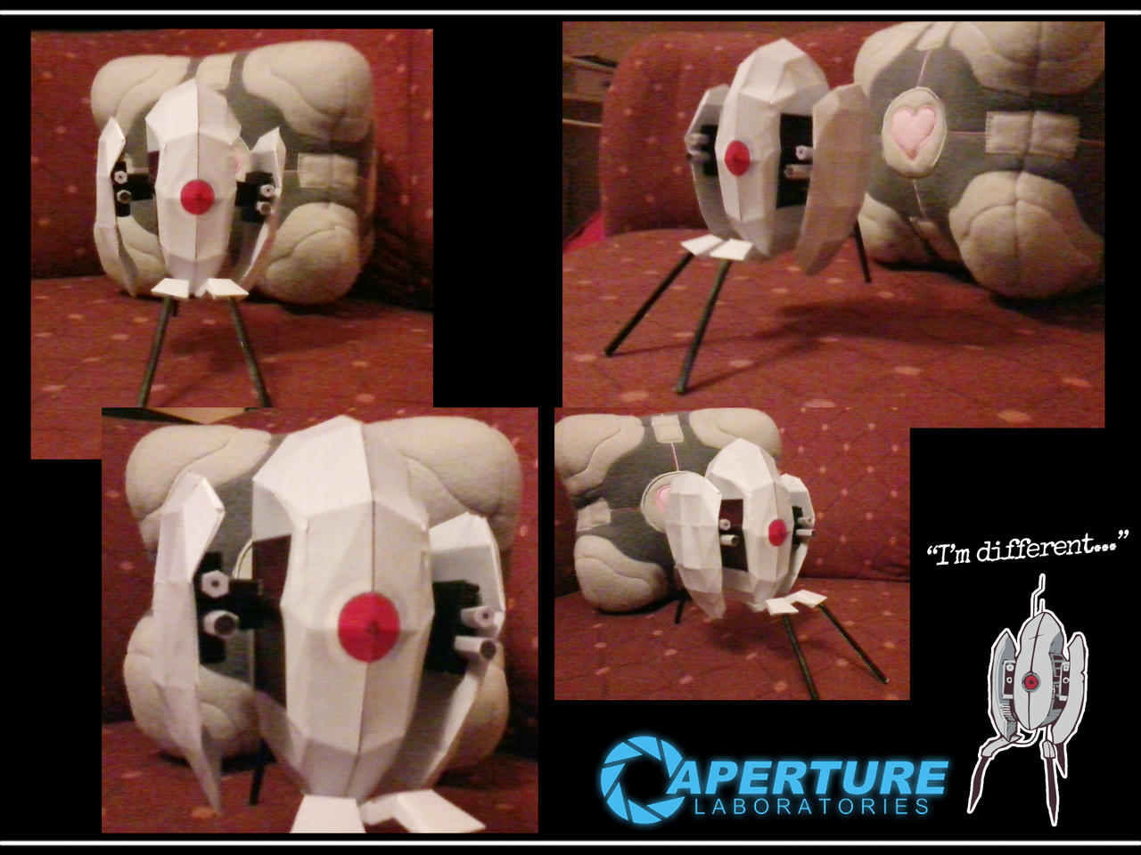 I papercrafted a Turret! by TheUnununium