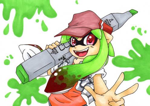 Copic Squid