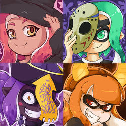 Splatoon - Splatoween Icons