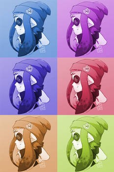 Splatoon - Colored Icons