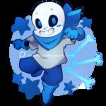 Patreon Request #12: Blueberry (Underswap Sans)
