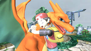Red and Charizard reunion