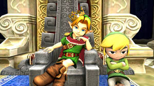 Usurper King: Young Link! [Requested]