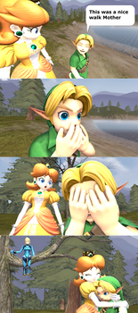 Embarrassed Young Link [Requested]