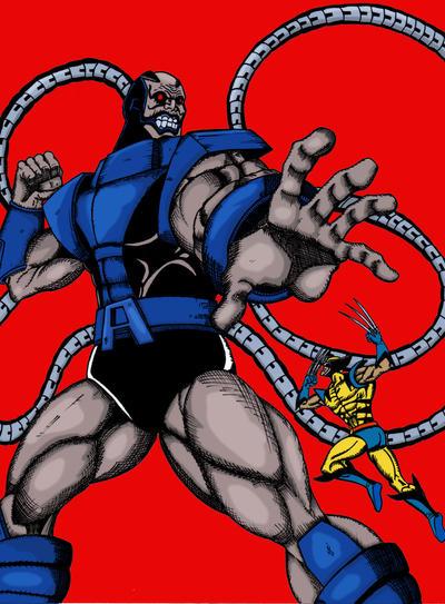 Apocalypse Vs Wolverine by Hafique84