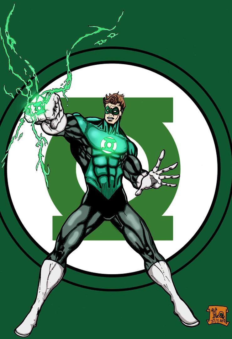 Hal Jordan The Green Lantern by Hafique84