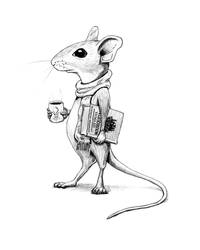 Book Mouse by Edelslav