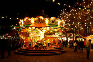Christmas Carousel by Mischah