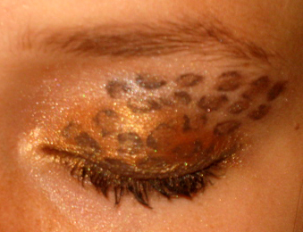 Leopard Print Eye Design by watermelonz