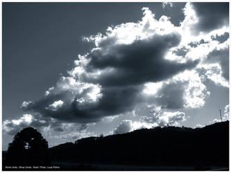 Duotone of Sky