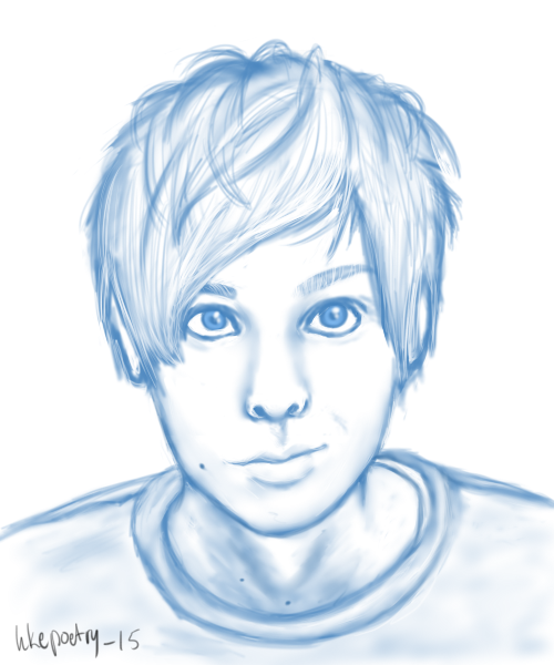 Sketch: AmazingPhil by hkepoetry