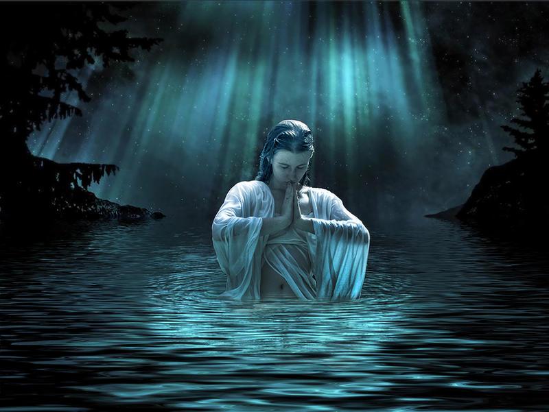 Meditation under the stars..