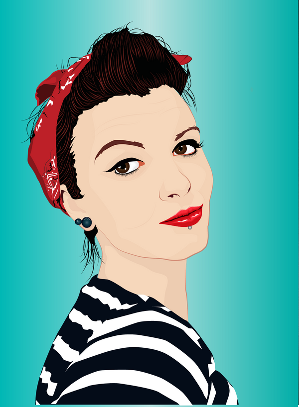 Pin up basistka style by tl designz on deviantart - Pin up style ...