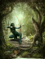 The Huntress... by TL-Designz