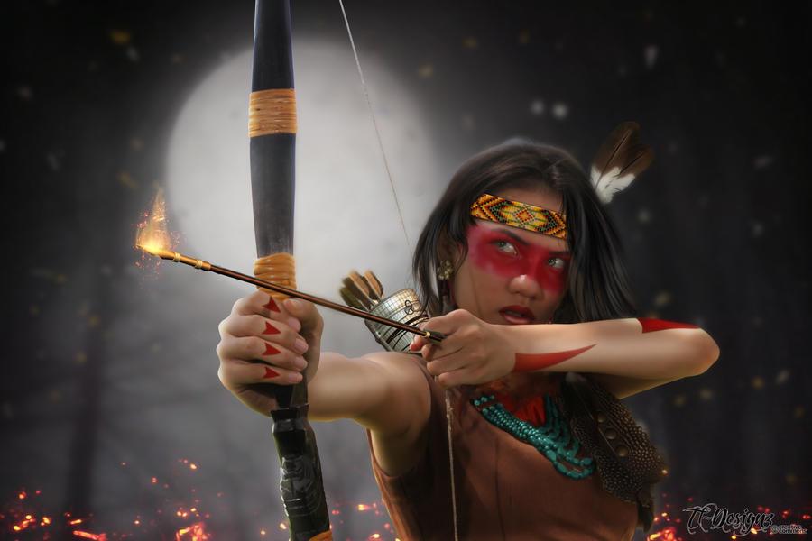 Native Warrior by TL-Designz