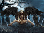 Graveyard Demoness