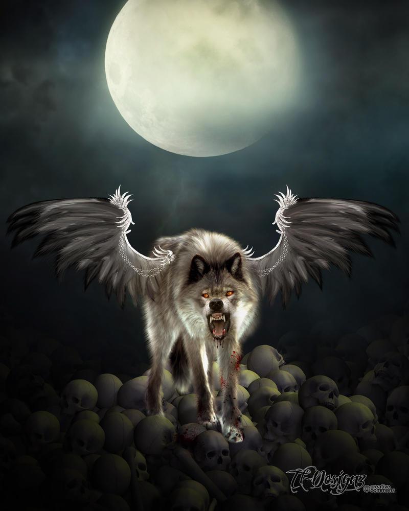 Demon Wolf by TL-Designz