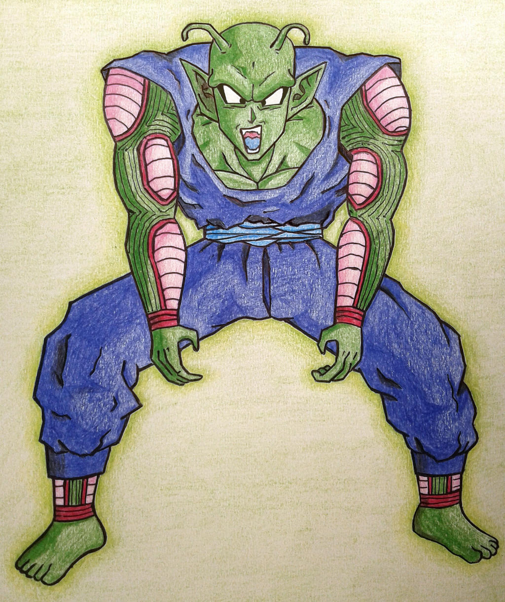 Barefoot Piccolo Jr. by RanCh000