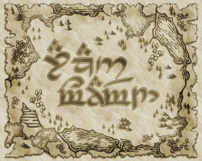 write my name in elvish