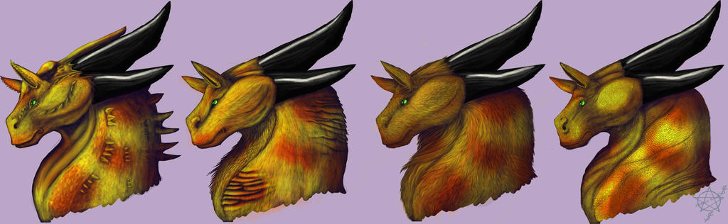 Dragon Skins Redone by LicianDragon