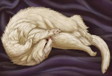 Sleeping Affliction by Laska-Eira