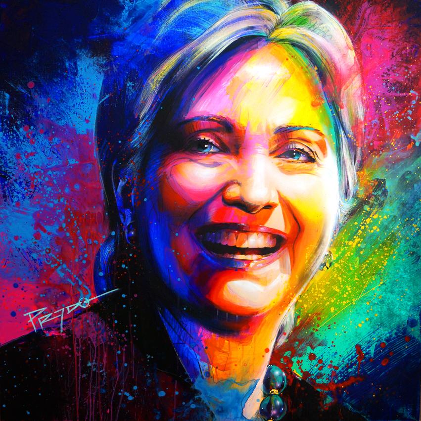 Hillary Clinton by HPRADO