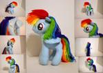 Rainbow Dash Plushie V2
