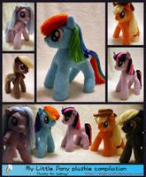 Lots o' Pony Plush by DogerCraft