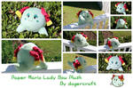 Paper Mario Lady Bow Plush *SOLD*