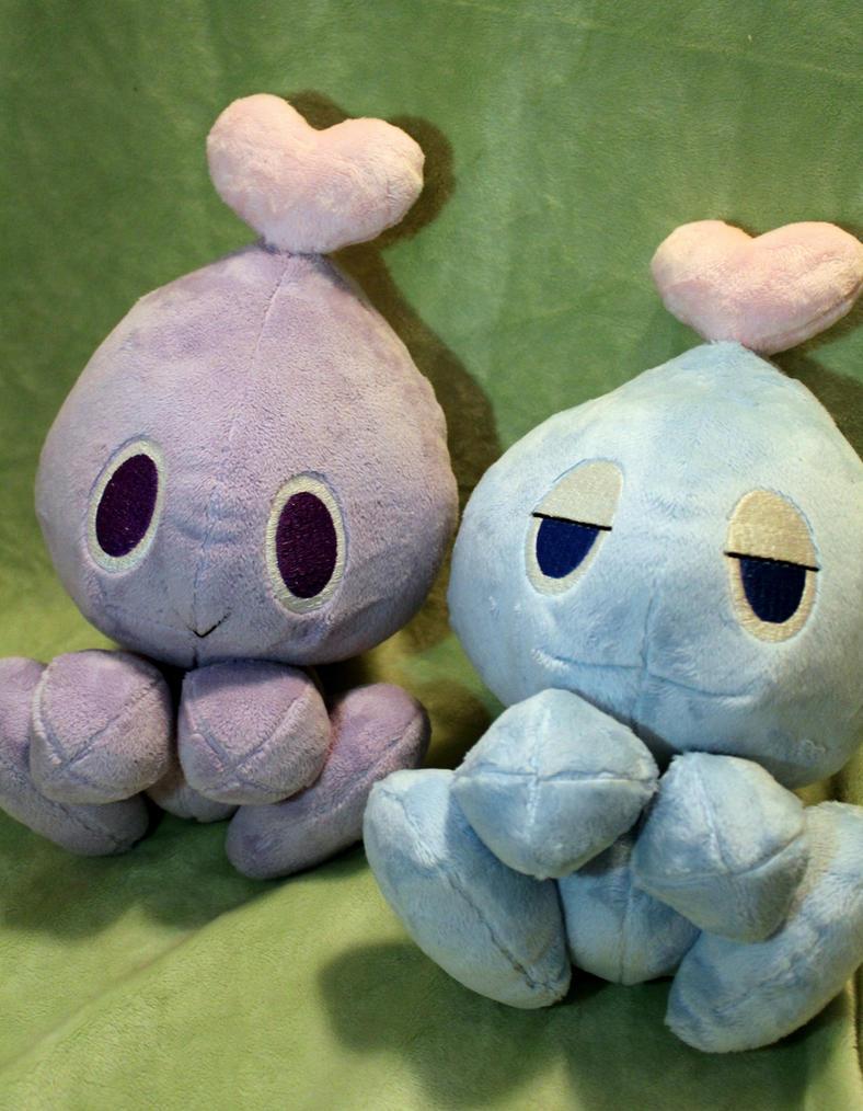Chao plush twins by DogerCraft