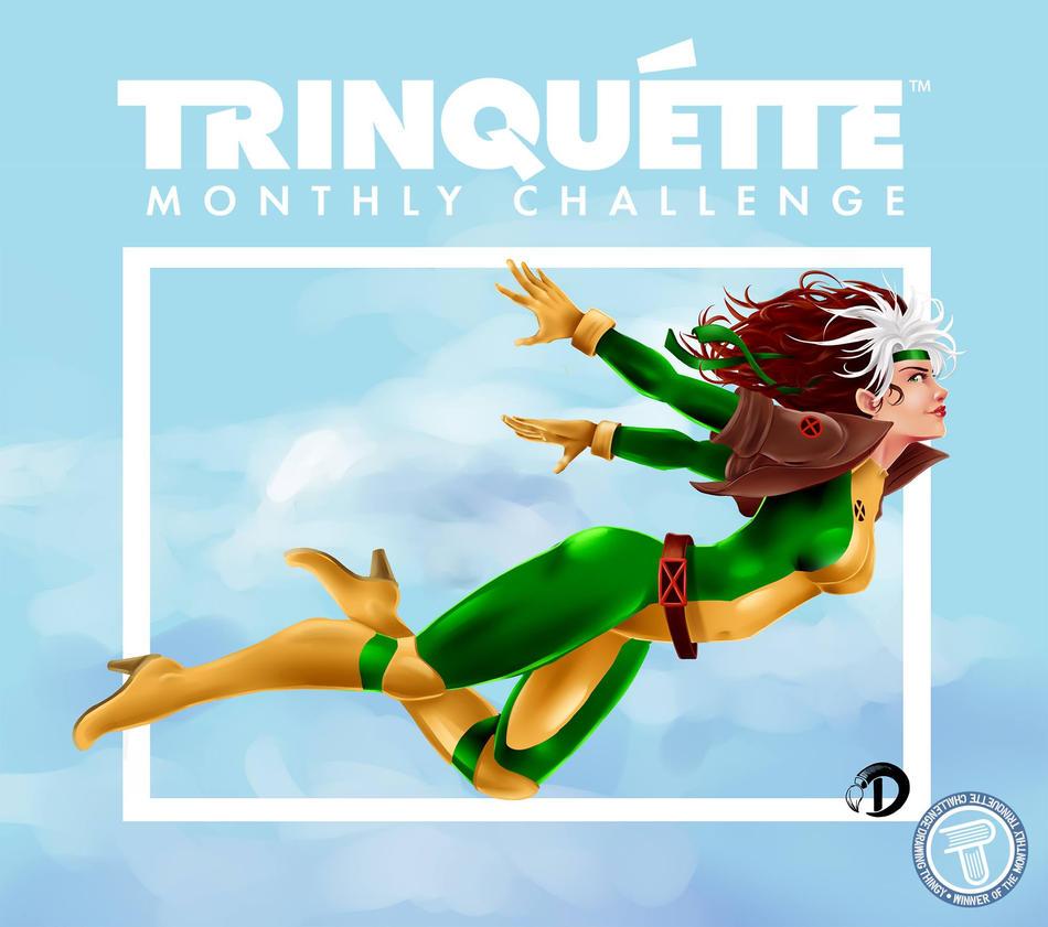 xmen trinquette challenge by v8galgo