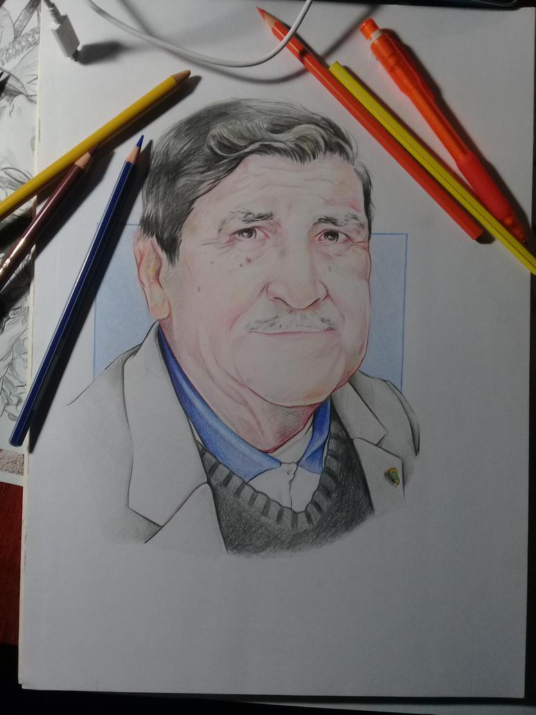grandpa polychromos by v8galgo